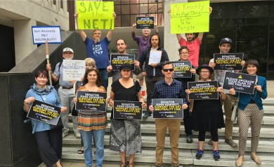 New Orleans Net Neutrality activists