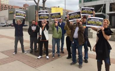 Salt Lake City Net Neutrality activists